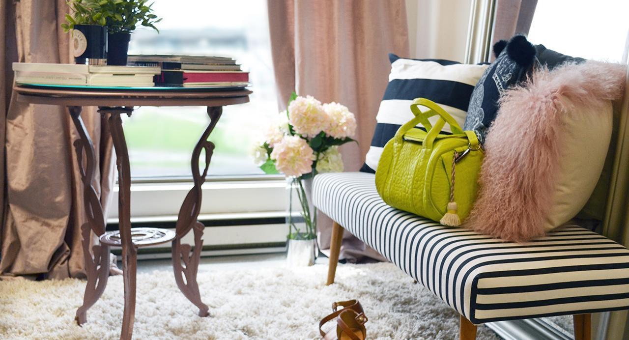 Décoration intérieure le glamour à petit prix